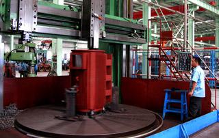 Grand erecting machine